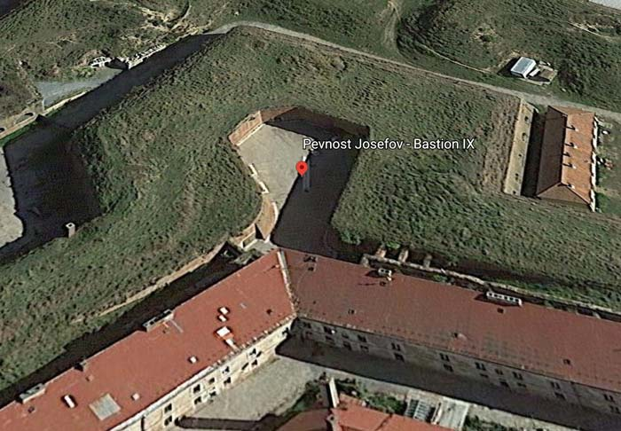 Bastion IX - Josefov Fortress, Jaromer, Czechia