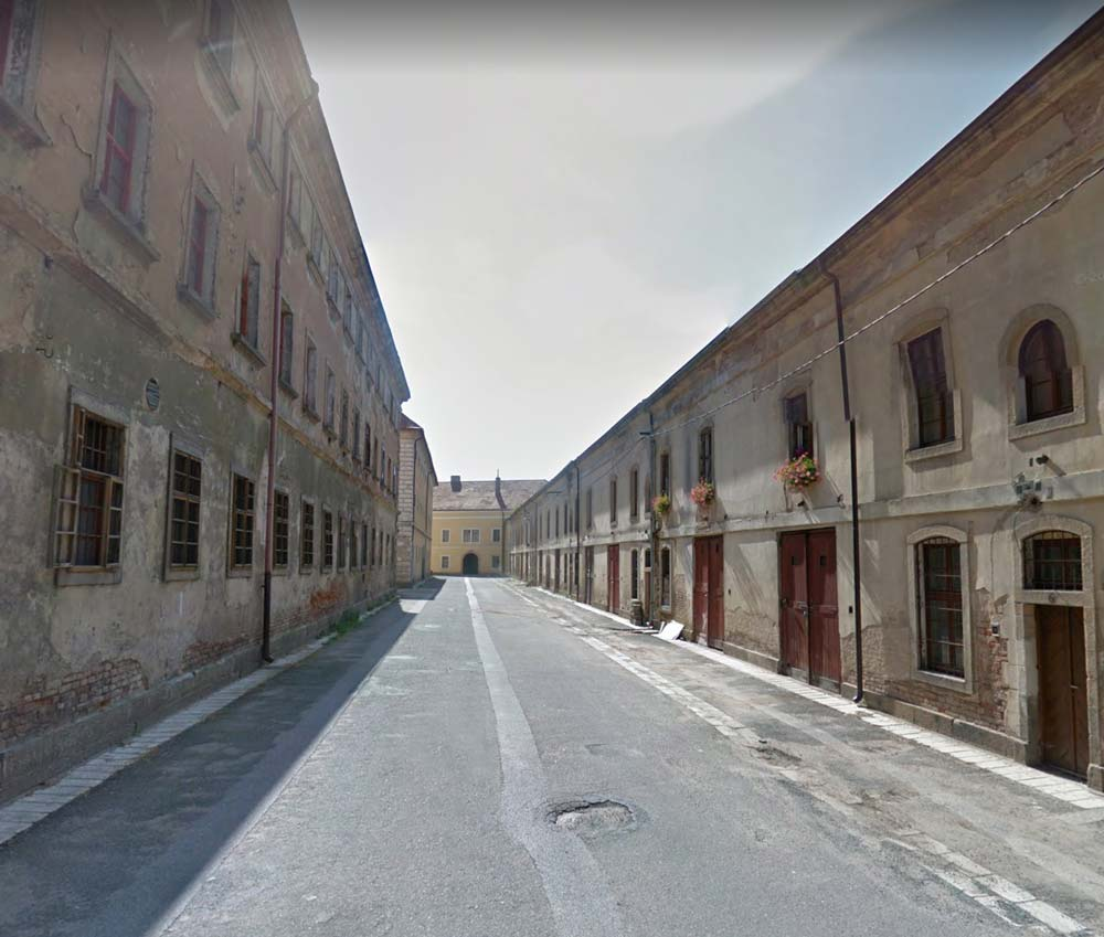 Wheel of Time Possible Filming Location - Alley in Josefov Fortress
