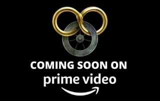"""The Wheel of Time Logo, with the words """"Coming soon on Prime Video"""" beneath it"""