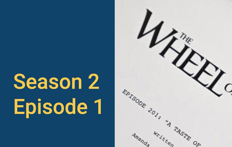 Season 2 Episode 1 story title