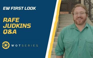 Post banner: EW First Look - Rafe Judkins Q and A