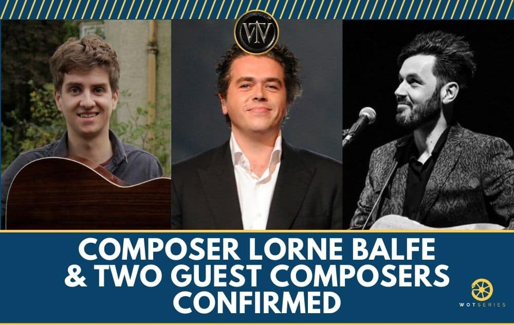 Composer Lorne Balfe & Two Guest Composers Confirmed