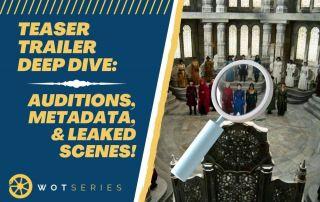 Teaser Trailer Deep Dive: Auditions, Metadata, & Leaked Scenes!